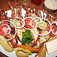 Lobster at Suyapa Beach Hotel