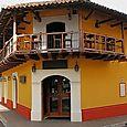 Colonial hotel in Granada, Nicaragua.