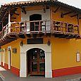 Colonial hotel in Granada.