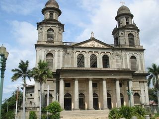 Managua-cathedral