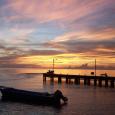 Sunset on Little Corn Island