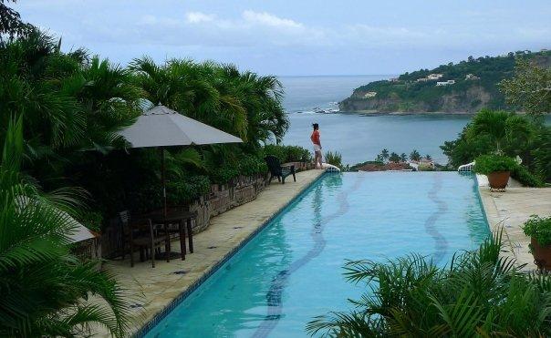 Resort on Pacific Coast of Nicaragua