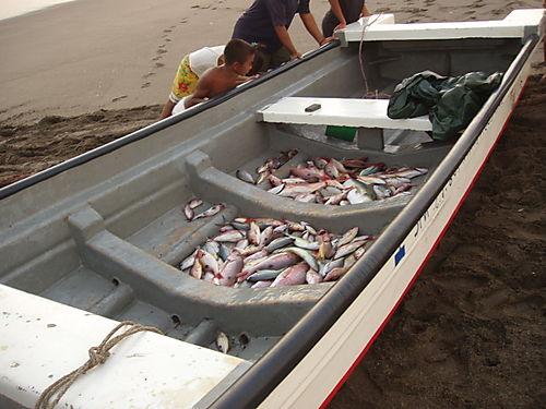 Fisherman in Las Penitas in North Nicaragua