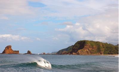 Maderas beach in Nicaragua