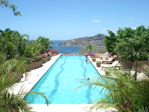 Swimming pool at a resort in San Juan del Sur