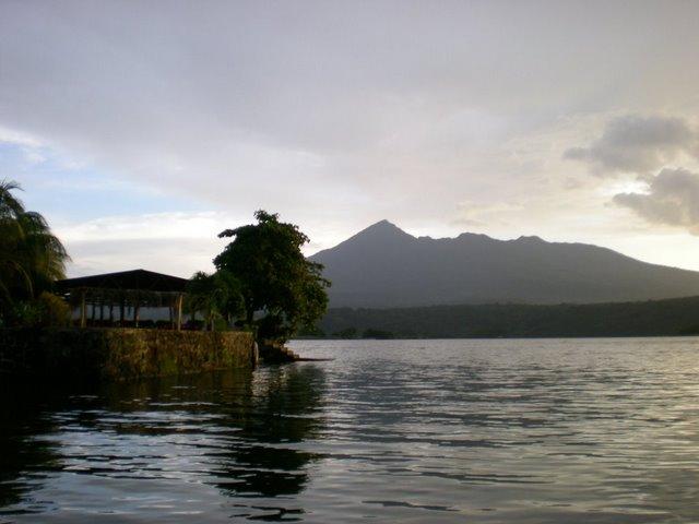Volcan Mombacho from Lake Nicaragua