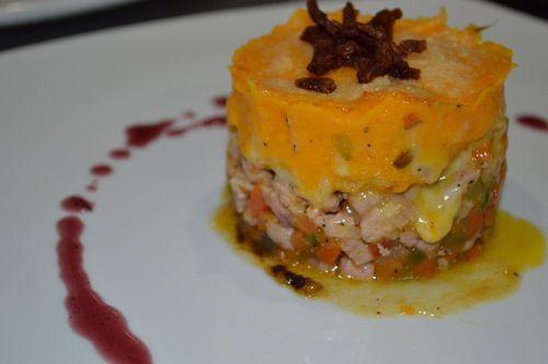 Sautéed Pork Loin at G&G Gourmet Restaurant